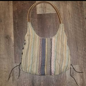 Aldo Purse Boho Bohemian Hippie Bag Multi Colored